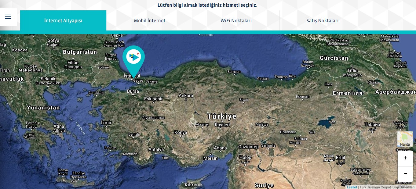 türk telekom internet altyapı sorgulama