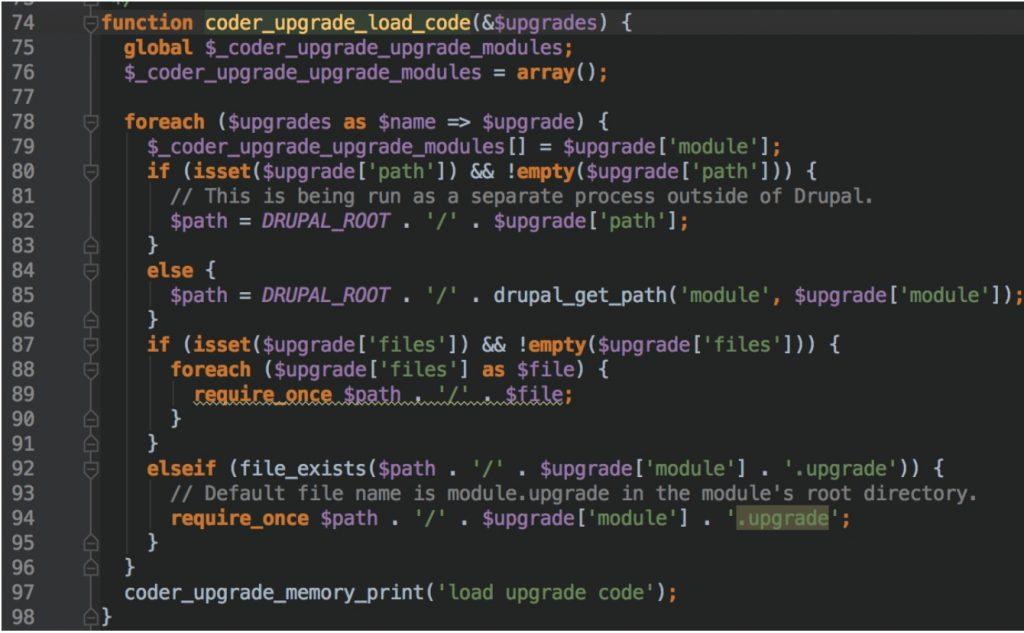 drupal-load-code